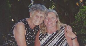 Angelika Opic and mother