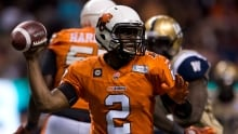 Glenn's 2 TD passes lead Lions win, Bombers lose QB Willy
