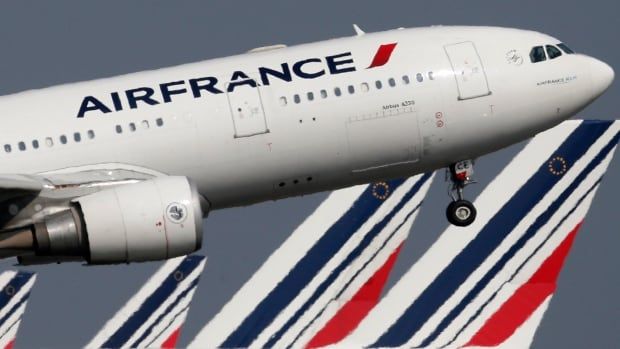 Air France Pilots Strike Shuts Down  Of Flights For