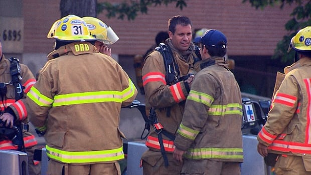 Firefighters were called to a fourplex in LaSalle at around 1 a.m.