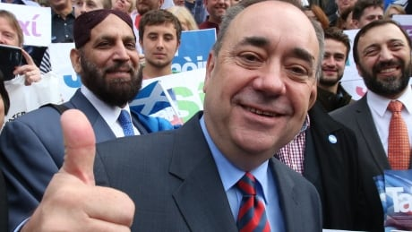 Former SNP leader Alex Salmond