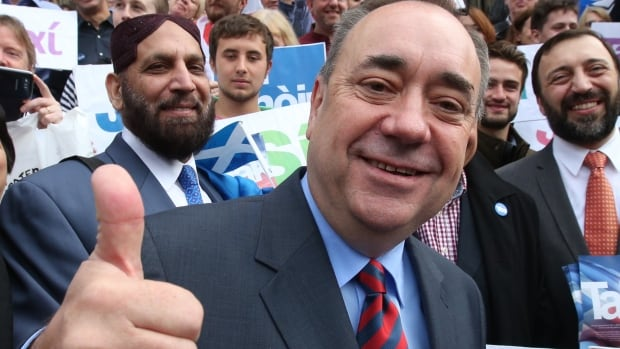 Nearly two decades prior to Scotland's own independence vote, Scottish First Minister Alex Salmond was fascinated by the social and political elements that influenced the 1995 referendum in Quebec.
