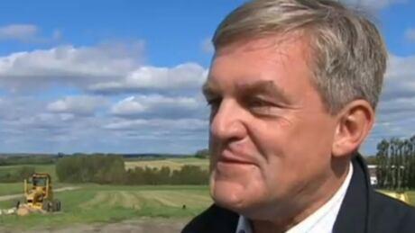 David Alward campaigns quietly in northwestern NB - CBC.ca