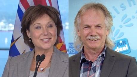 Christy Clark and Jim Iker, Sept. 16, 2014