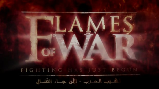 Title screen from a new video released Tuesday night by Islamic State in Iraq and Syria (ISIS).