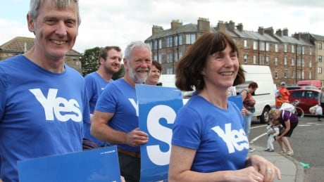 Scotland - Yes campaigners