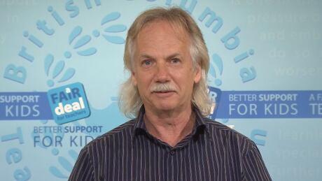 B.C. Teachers' Federation president Jim Iker - Sept. 18, 2014