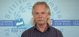 B.C. Teachers' Federation president Jim Iker - Sept. 18, 2014