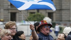Scotland referendum Yes voters react