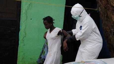 Ebola Liberia woman