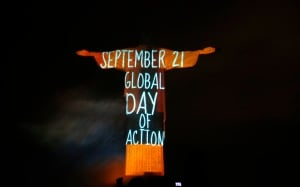 Climate change global day of action