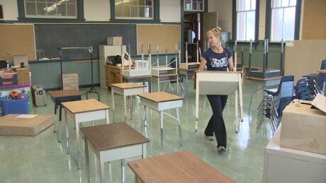 Susanna Solecki, Victoria, B.C., elementary school teacher