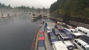 Quadra Island ferry - BC Ferries