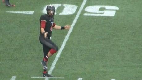 Jesse Mills, Carleton University quarterback