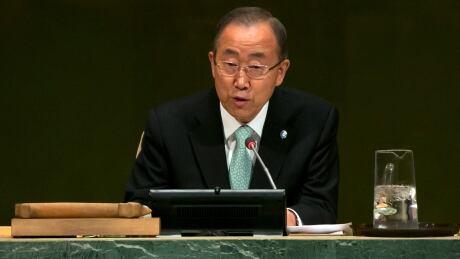 Climate Change Summit Ban Ki-moon