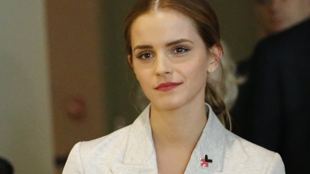 UN Women Goodwill Ambassador Emma Watson attends the HeForShe campaign launch at the United Nations on Saturday in New York.