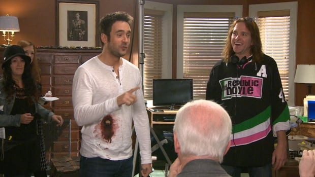 Allan Hawco on the Republic of Doyle set