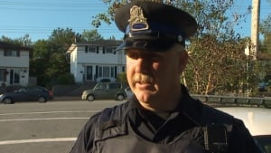 Halifax Regional Police Const. Tracy Macdonald at traffic stop