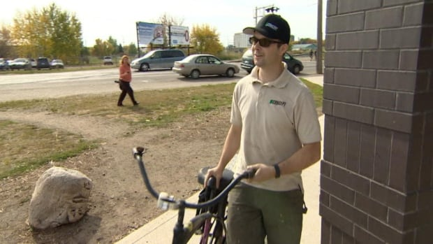 Michal Willfong says he was waiting for an opportunity to donate a bike and when he learned of the challenges facing one family, affected by the bus lockout, he stepped up.