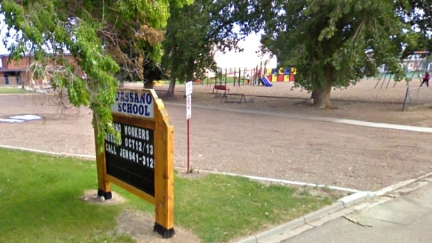 A teacher who was suspended in B.C. has been teaching at the Bassano School in Alberta since last winter. Daniel Mark Ogloff taped a sign that said 'I'm gay' on a high school student's back in Langley.