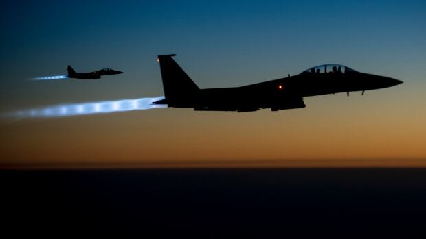 A  local businessman said an oil refinery in the northern Syrian town of Tel Abyad near the Turkish border was hit Sunday in an apparent airstrike by the U.S.-led coalition waging an aerial campaign against ISIS-held installations in Iraq and Syria.
