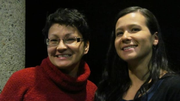 Rosanna Deerchild, left, is the new host of Unreserved on CBC Radio One. Poet Katherena Vermette is one of the many guests Deerchild has interviewed in her broadcast career.