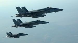 Mideast Syria US Airstrikes