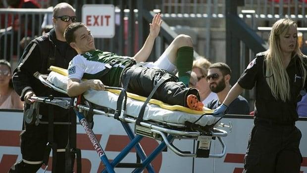 Will Johnson Has Successful Surgery On Broken Leg Cbc Sports Soccer