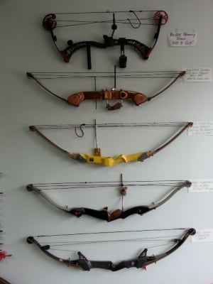 Boorman Archery stolen bows