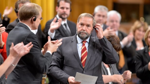NDP Leader Tom Mulcair and his caucus have a tough calculation to make on the Canada-EU trade deal: Can they look like a business-friendly government-in-waiting without losing supporters who are worried about the deal?
