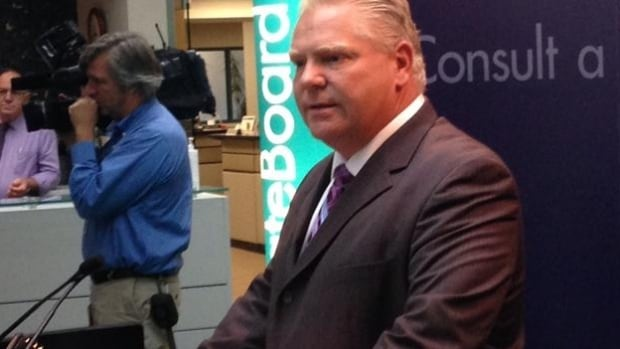 Toronto mayoral Candidate Doug Ford says the Municipal Land Transfer Tax is an unfair tax that is hurting the city's economy.