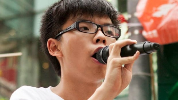 Joshua Wong, 17, is the leader of Scholarism, which is one of the groups galvanizing Hong Kong students to demand a fully democratic election when they select their next leader in 2017.