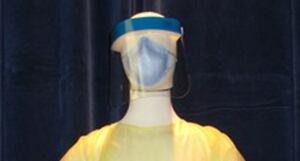 Ebola virus face shield