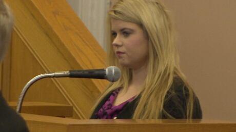 Megan Reddigan in Supreme Court for Pynn-Butler trial