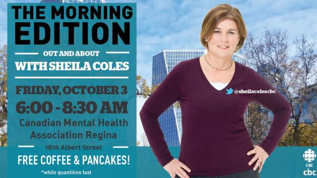 The Morning Edition will be live at 1810 Albert Street in Regina on Friday morning.