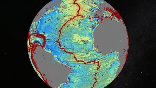 Sea Floor Elevation Data : New sea floor map reveals uncharted mountains massive