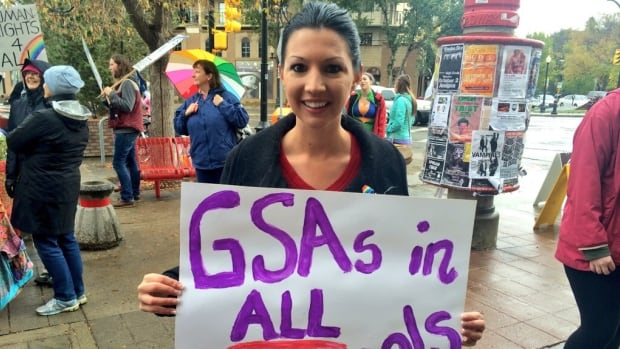 Chandra McIvor wants new provincial legislation that would mandate Gay-Straight Alliances (GSAs) in all schools.