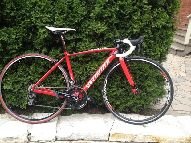 Michael Le Rossignol bike