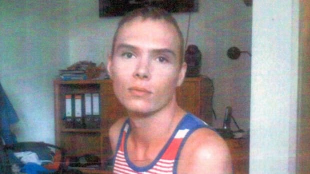 A German man who let Luka Magnotta stay in his Berlin apartment took this photo of the accused. Magnotta was arrested in Berlin on June 4, 2012.