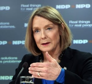 NDP Industry Critic Peggy Nash