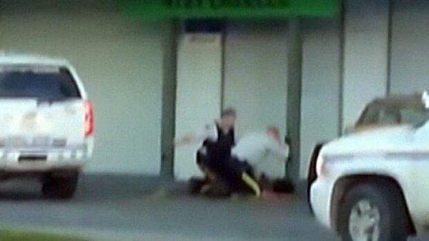A Terrace RCMP officer has been charged with assault after a violent arrest was caught on tape and given to a local newspaper.