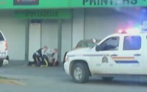 Terrace arrest video - May 2014