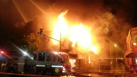 New Westminster fire - before 3
