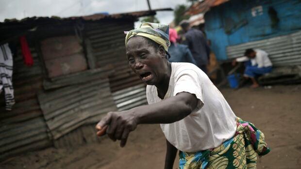 Ebola grief