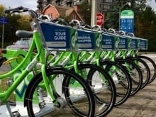 VeloGo bike share station ottawa