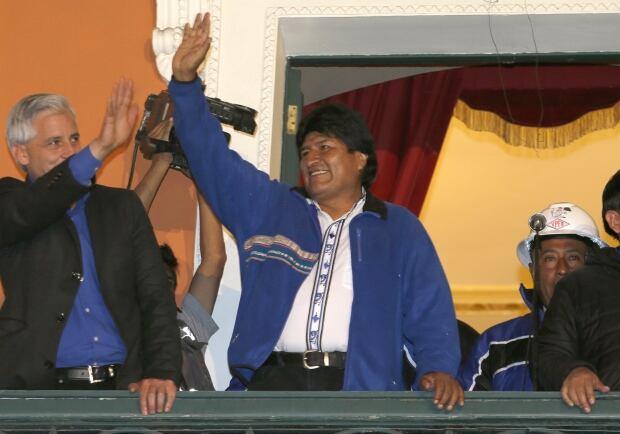 Bolivia Elections Morales
