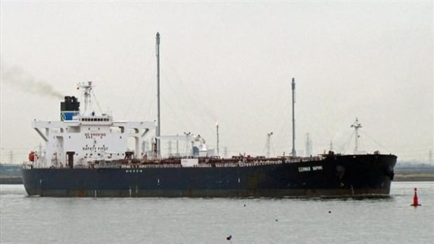 The Genmar Daphne was on its way to Sorel-Tracy, Que., to pick up Suncor bitumen from the Alberta oilsands that had been shipped there by train.