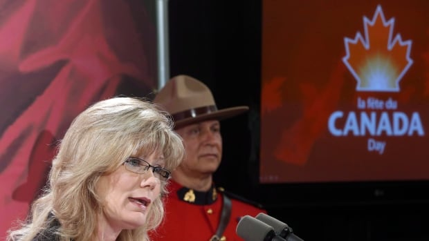 A spokesman for Heritage Minister Shelley Glover says it is important to remind Canadians of earlier milestones on the road to Confederation.