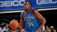 Kevin Durant out of Thunder lineup at least 6 weeks after surgery