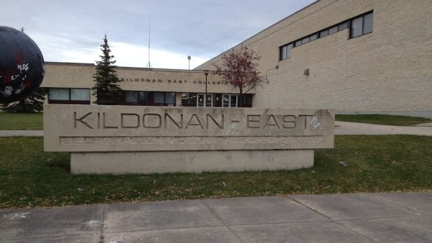 A fire broke out at Kildonan-East Collegiate in Winnipeg on Thursday, forcing the evacuation of the school.